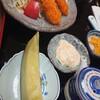 うなぎ処 かねはち - 料理写真:エビフライ定食  画像は切れちゃってますが、エビフライは三本です タルタルソースとウスターソースが両方付きます
