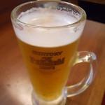 目黒げんき酒場 すだ屋 - 生ビール