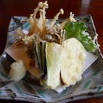 日本料理と蕎麦 冴沙 - 天ぷら