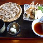 日本料理と蕎麦 冴沙 - 天ざるそば
