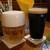 キールズ・バーハウス アオバダイ - ピルスナー・ウルケルと京都醸造の「黒潮の如く」