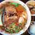 玉春 - 料理写真:特製厚切り牛バラのせ担々麺のおばんざいセット