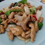 中華料理 萬福 - もつのピリ辛炒め