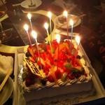 デニム - 誕生日やパーティーのサプライズでケーキをご用意!