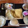 Sakanaryourisemmontenwakasei - 料理写真:アジフライ定食