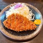 とんかつきむら - 料理写真:Bランチのロースカツ1000円