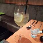 150243326 - サワーポメロという柑橘を用いたノンアルコールカクテル。