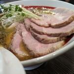 麺や でこ - 濃厚牡蠣蕎麦チャーシュー