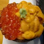 はこねずし - おまかせ握り寿司5400円に つく  いくら雲丹ミニ丼       鮮度がザンネン  ボリュームは ありました