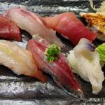 はこねずし - おまかせ握り寿司5400円   クロムツ
