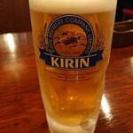 白馬童子 - ドリンク写真:生ビール