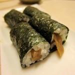 地魚握り とっつぁん寿司 - かんぴょう巻