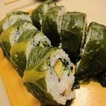 地魚握り とっつぁん寿司 - 高菜巻