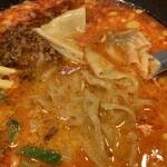 150250554 - 特製担々麺(780円)※激辛の麺アップ
