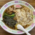 伊奈一 - 料理写真:「ワンタンメン」550円