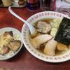 白河中華そば - 料理写真:チャーシュー麺 ワンタン 炙り丼
