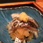 神楽坂 おいしんぼ - 呑兵衛つまみセット (〆秋刀魚のおろし和え)