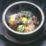 しちりん屋西院厨房 - 本場の「石焼きビビンバ」 ¥850