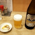 中華洋食食堂 あゆた - 瓶ビール:500円