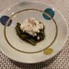 割烹 なり田 - 料理写真:わらび、青のりあんかけ、山芋