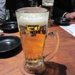 toribudou - 先ずはビールで乾杯!