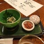 喜久寿司 - 先付け