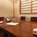 喜久寿司 - 座敷