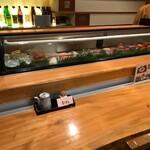 喜久寿司 - カウンター