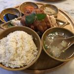 Hainanchifan - 海南鶏飯(ハーフ&ハーフ) 肉大盛り