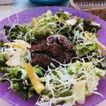 モン ボン カフェ - 料理写真:グリーンステーキボウル