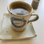 モン ボン カフェ - ランチセットのコーヒー
