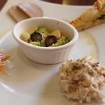 ブレッツァ - 前菜盛合せ