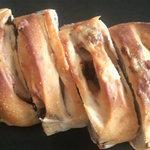 手作りほかふかパン メルシー - いちじくとくるみのぱん お店でカットしてもらいました。