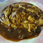 あさひやレストラン - 料理写真:オムハヤシ