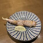 ひぐらし - マコモ茸の豚肉巻き