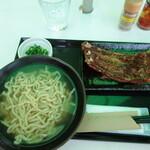 沖縄そば専門店 琉球麺 茉家 - 炙りソーキそば \1200(21-04)