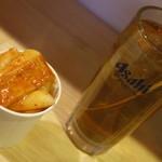 春川鶏カルビ - トッポギ&コーン茶割り