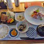ゆうじん - 煮魚御膳(煮魚未着)