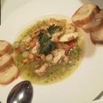 シーフードレストランアンドバーオーシャンズ - ツブ貝の香草バター