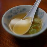 150314033 - 海老揚げ焼きそば(¥730税込み)スープつきます