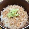 Wasabienkadoya - 料理写真:おろしたわさびを乗っける。