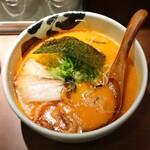 ばっこ志 - 料理写真:朱油ラーメン(800円)