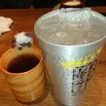 炭旬 - エア乾杯