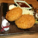 炭旬 - カニクリームコロッケ