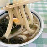 みうらうどん - 極太の麺