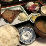 和食Dining うお座 - 昼定食 しゃけの西京焼き定食