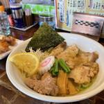 鳥空海 - 料理写真:鶏塩らーめん