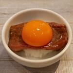 うしごろバンビーナ - ☆サーロインのすき焼きは卵黄で(^◇^)☆