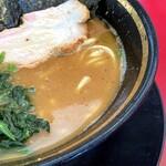 熊田家 - しょっぱ旨なバランスのスープ。