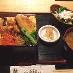 新宿 今井屋本店 - 比内地鶏 焼き鶏重